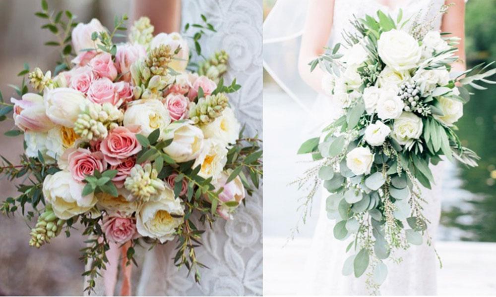 Những mẫu hoa cưới mang phong cách Châu Âu đẹp cho năm 2018