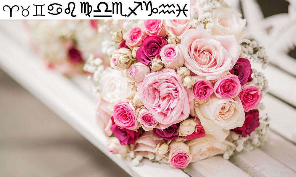 Bí quyết chọn hoa cưới đẹp cho 12 cung hoàng đạo