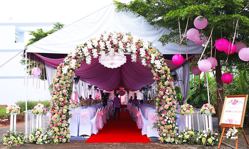 9 điều cần lưu ý khi tổ chức tiệc cưới tại nhà
