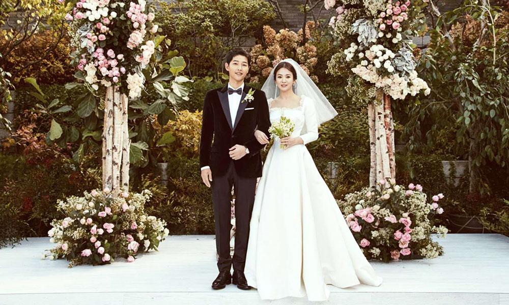 Song joong ki và song hye kyo tổ chức đám cưới đơn giản nhưng đầy lãng mạn