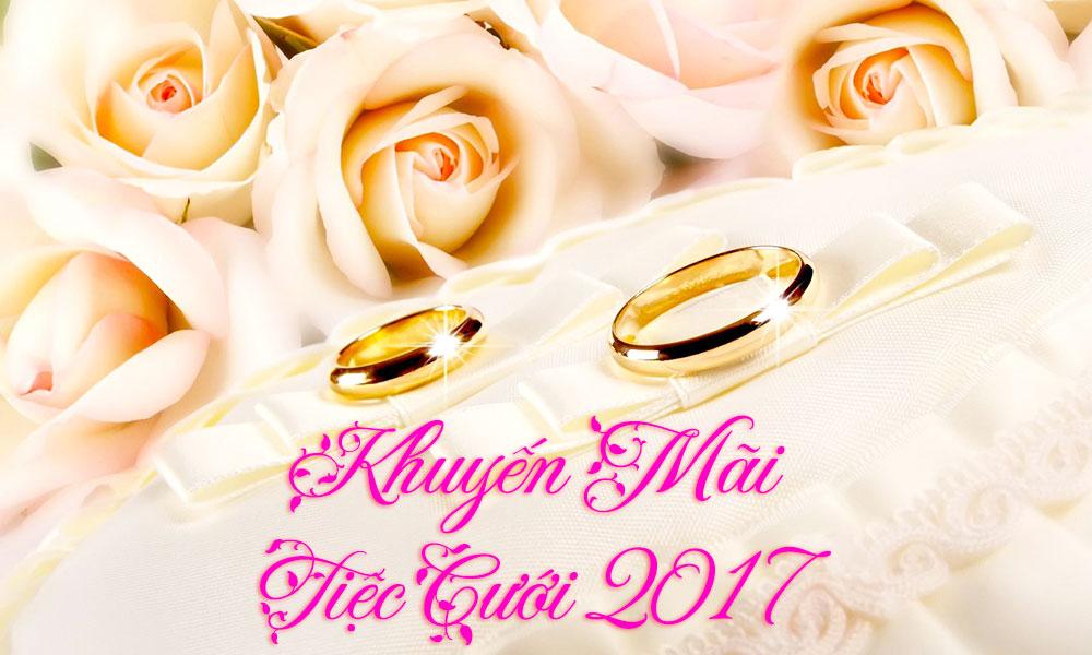 Trung tâm hội nghị tiệc cưới Cửu Long khuyến mãi tiệc cưới 2018