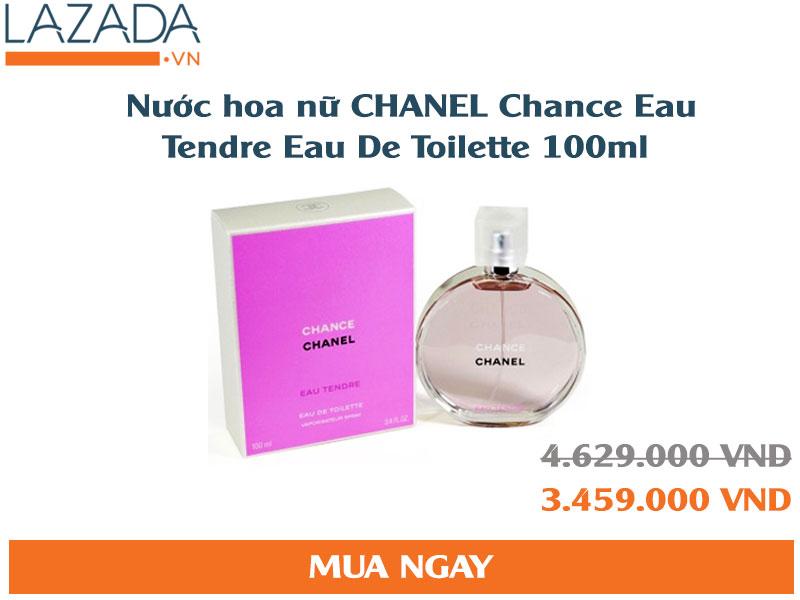 Nước hoa nữ CHANEL Chance Eau Tendre Eau De Toilette 100ml