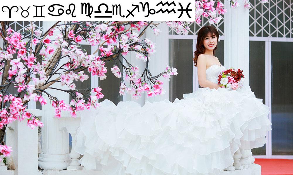 Váy cưới đẹp cho 12 cung hoàng đạo