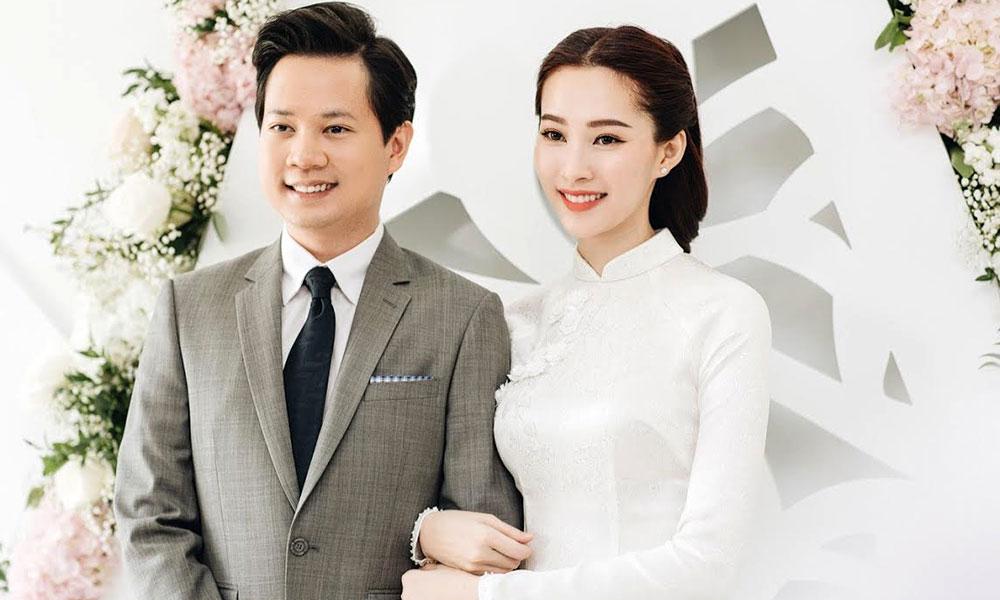 Hoa hậu Đặng Thu Thảo chính thức lên xe hoa cùng doanh nhân trẻ Trung Tín