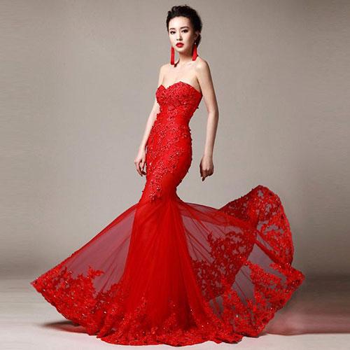 Váy cưới đẹp cho 12 cung hoàng đạo - Cung Bò Cạp
