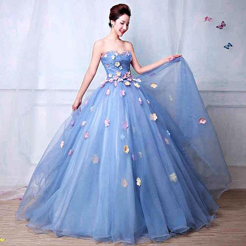 Váy cưới đẹp cho 12 cung hoàng đạo - Cung Song Ngư