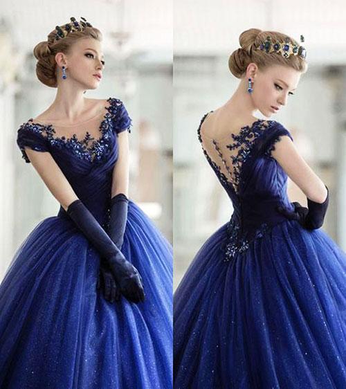 Váy cưới đẹp cho 12 cung hoàng đạo - Cung Thiên Bình