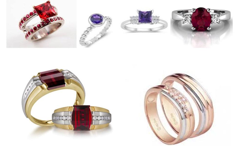 Chọn mua nhẫn cưới theo phong thủy - Nhẫn cưới cho người mệnh Hỏa