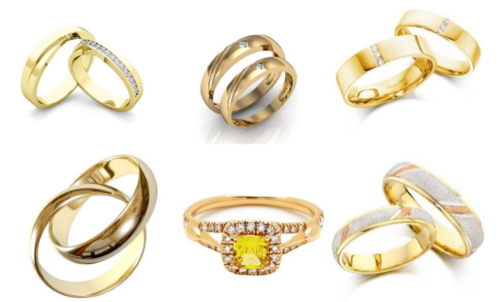 Chọn mua nhẫn cưới theo phong thủy - Nhẫn cưới cho người mệnh kim