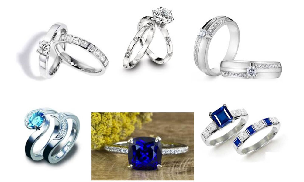 Chọn mua nhẫn cưới theo phong thủy - Nhẫn cưới cho người mệnh Thủy