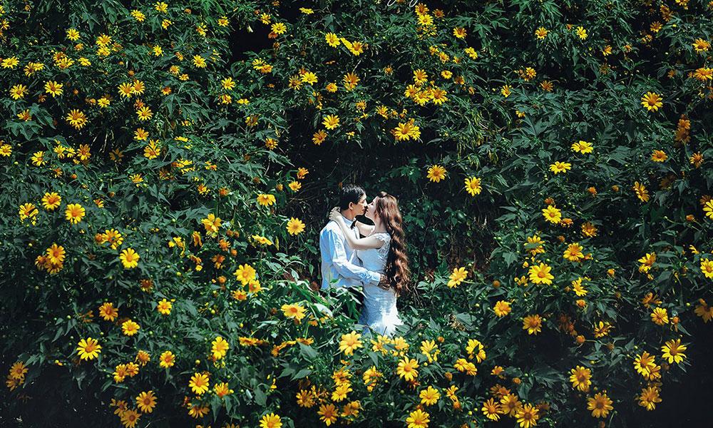 Chụp ảnh cưới mùa nào đẹp nhất - Mùa Đông