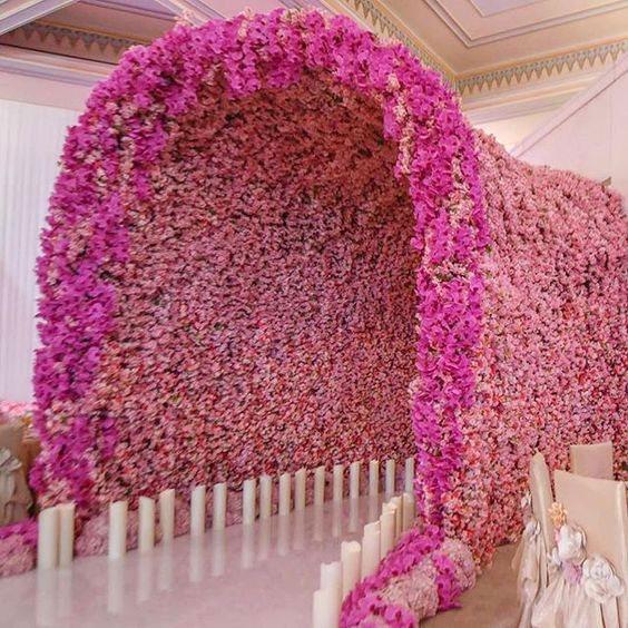 Cổng hoa cưới đẹp cho năm 2018