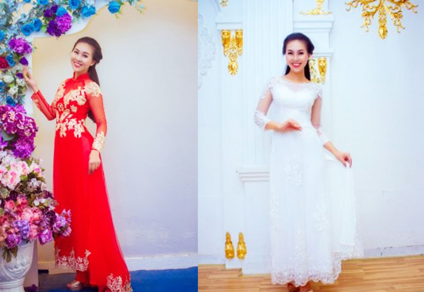 Địa điểm cho thuê áo dài cưới đẹp ở Cần Thơ - Áo dài cưới Alen