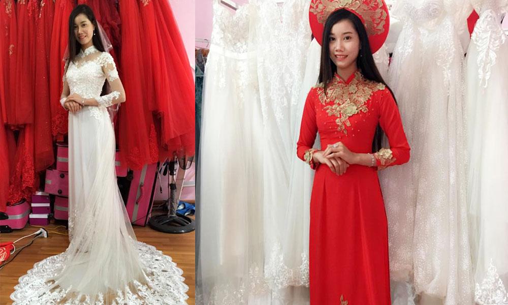 Địa điểm cho thuê áo dài cưới đẹp ở Cần Thơ - Áo cưới Nguyễn Ngọc Cần Thơ
