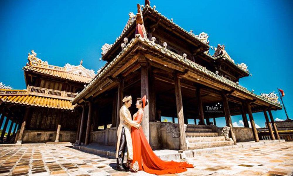 Top 10 địa điểm chụp ảnh cưới đẹp dịp cuối năm - Cố đô Huế