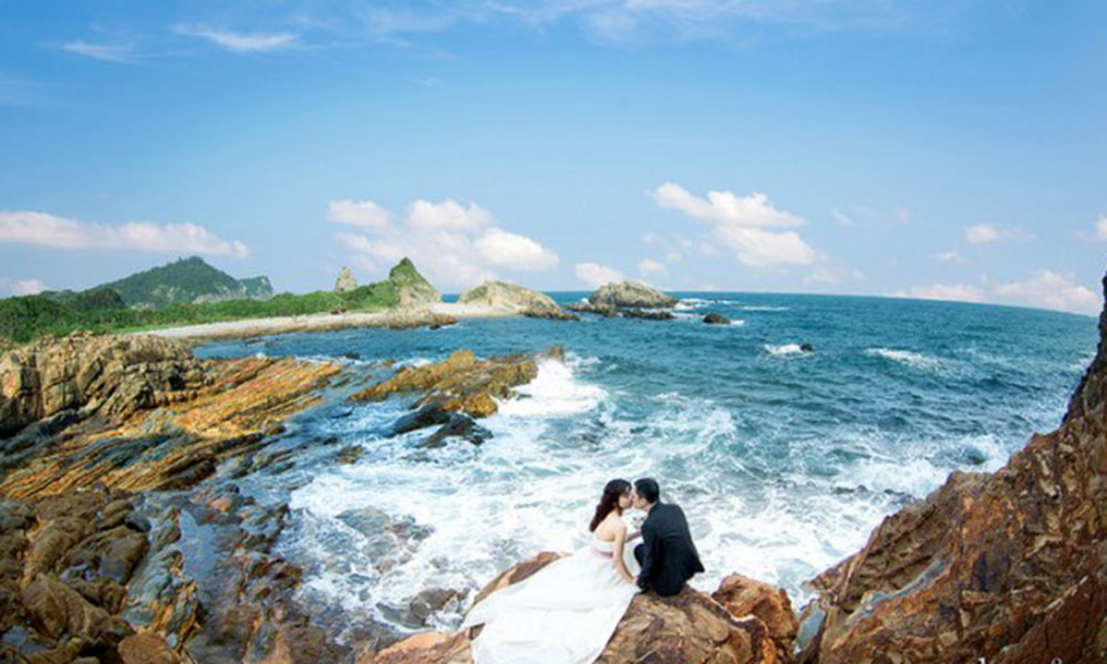 Top 10 địa điểm chụp ảnh cưới đẹp dịp cuối năm - Đảo Cô Tô (Quảng Ninh)