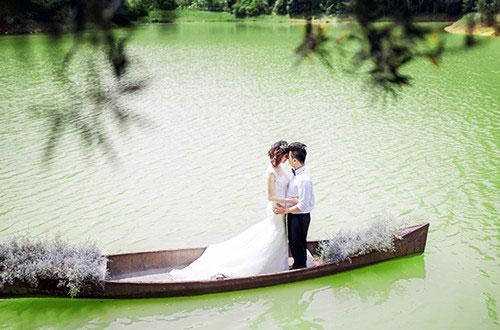 Địa điểm chụp ảnh cưới đẹp ở Đà Lạt - Thác Datanla và thác Voi