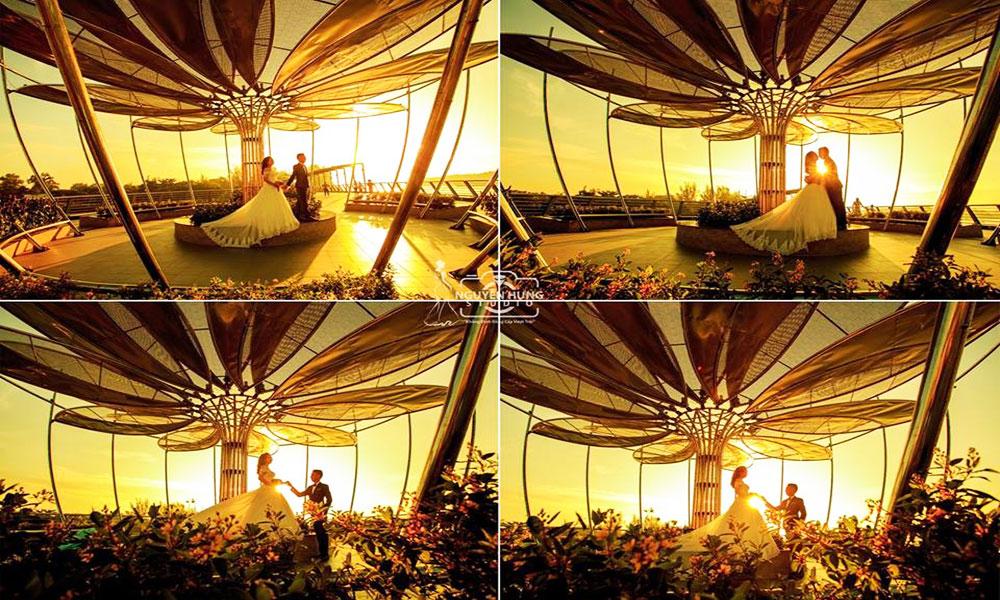 Địa điểm chụp ảnh cưới đẹp ở Cần Thơ - Bến Ninh Kiều