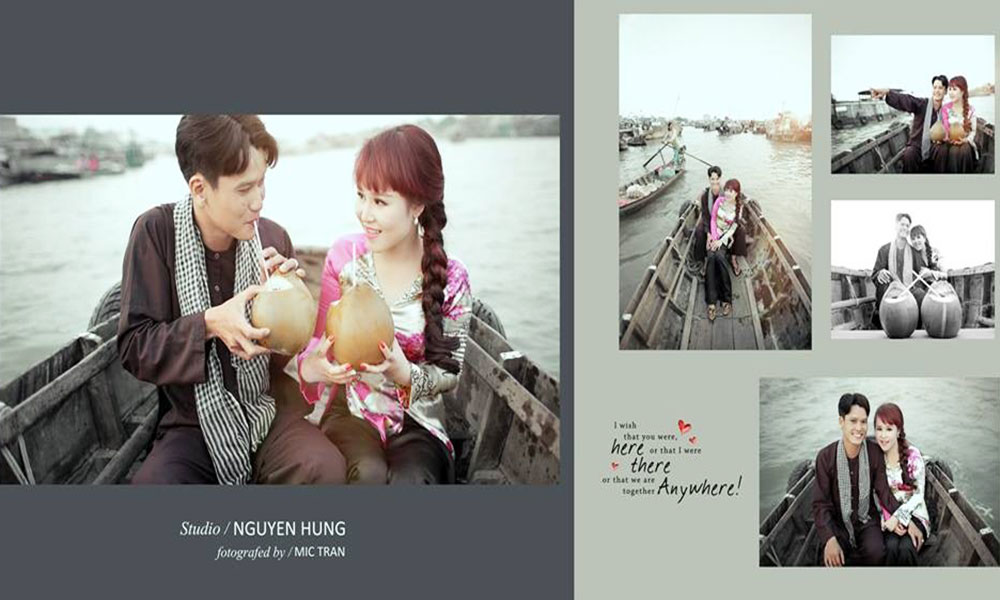 Địa điểm chụp ảnh cưới đẹp ở Cần Thơ - Chợ nổi Cái Răng