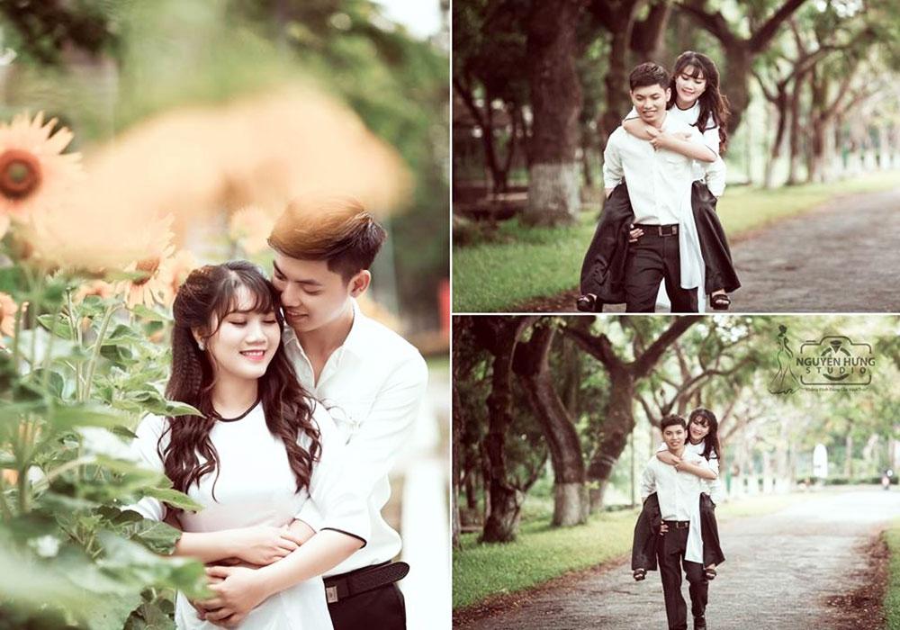 Địa điểm chụp ảnh cưới đẹp ở Cần Thơ - Trường Đại học Cần Thơ