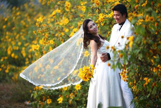 Địa điểm chụp ảnh cưới đẹp ở Đà Lạt - Đồi hoa Dã Quỳ