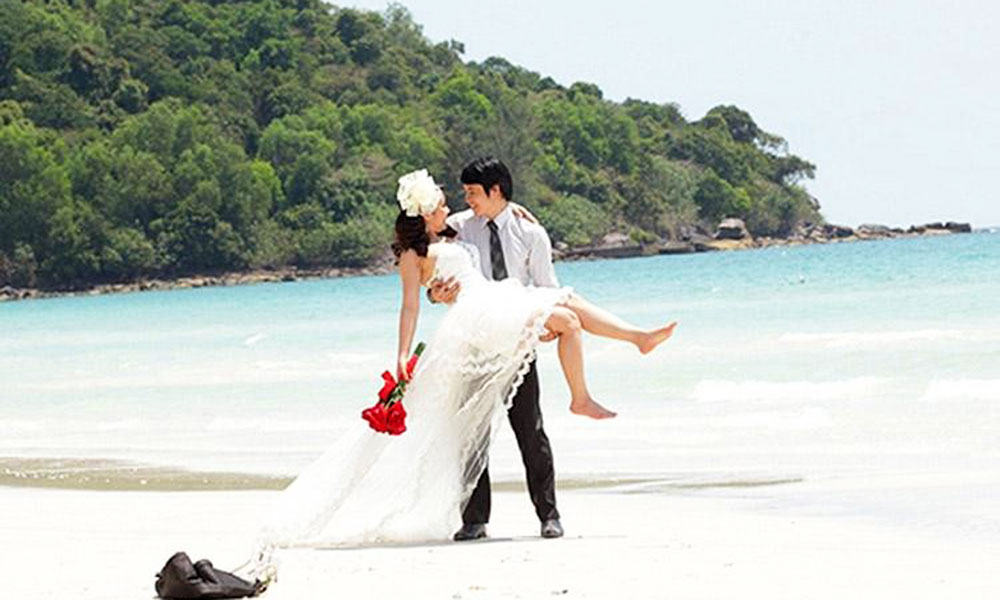 Địa điểm chụp ảnh cưới đẹp ở Phú Quốc - Mũi Gành Dầu