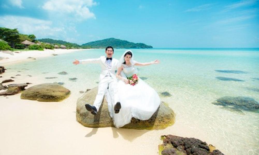 Địa điểm chụp ảnh cưới đẹp ở Phú Quốc - Bãi Khem, Mũi Ông Đội