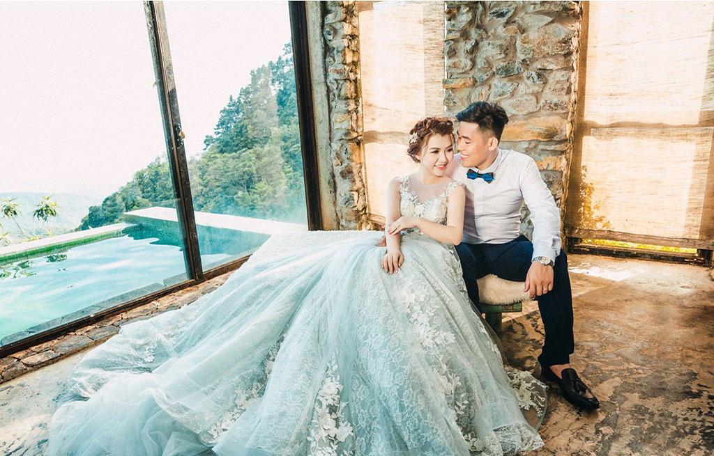 Địa điểm chụp ảnh cưới đẹp ở Tam Đảo - Biệt thự Nguyễn Quý Đức