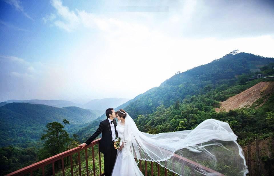 Địa điểm chụp ảnh cưới đẹp ở Tam Đảo - Cổng trời