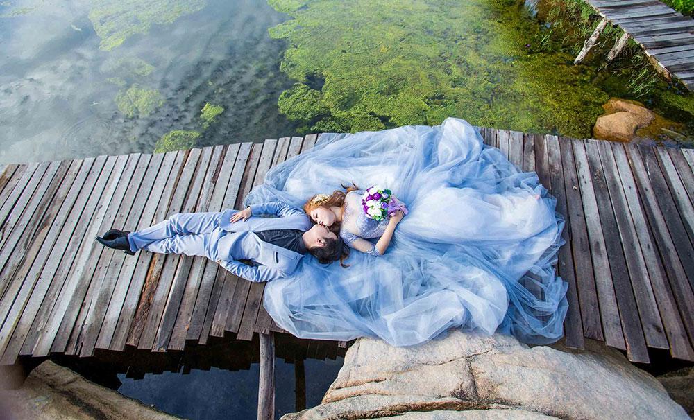 Địa điểm chụp ảnh cưới đẹp ở Vũng Tàu - Hồ Cốc