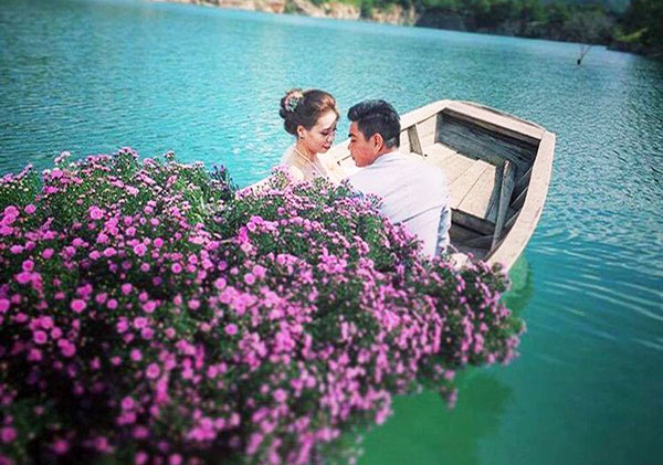 Địa điểm chụp ảnh cưới đẹp ở Vũng Tàu - Hồ Đá Xanh