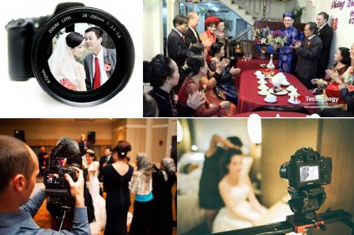 Dịch vụ cưới hỏi trọn gói - Chụp ảnh, quay phim ngày cưới