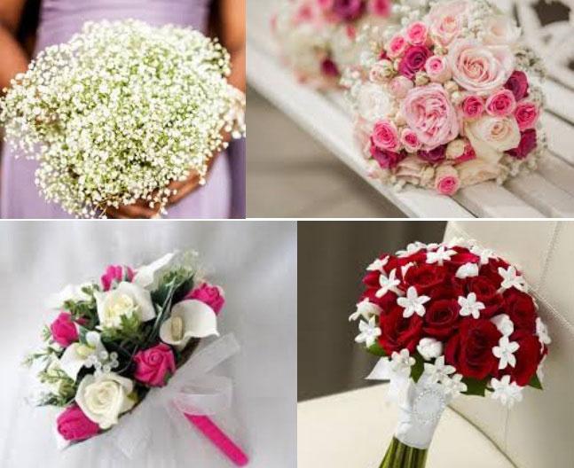 Dịch vụ cưới hỏi trọn gói - Hoa cầm tay cô dâu và hoa cài áo ngày cưới