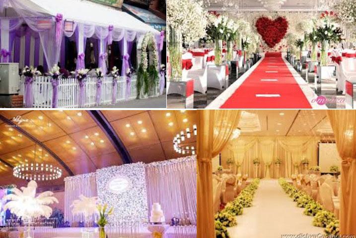 Dịch vụ cưới hỏi trọn gói - Trang trí tiệc cưới