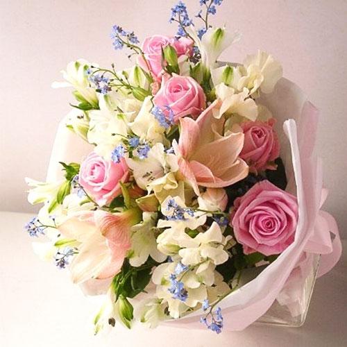 Hoa cưới đa sắc