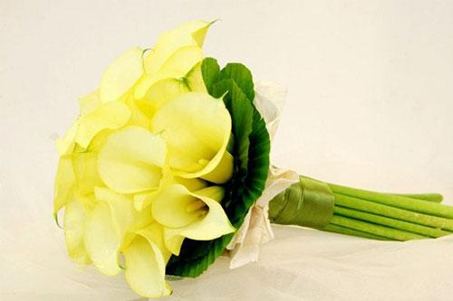 Hoa cưới dáng dài cầm tay