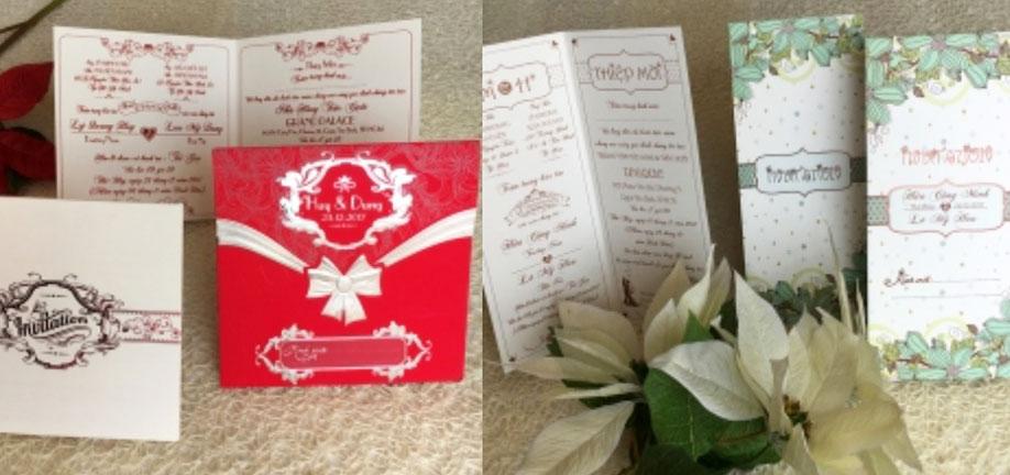 Địa điểm in thiệp cưới đẹp tại Cần Thơ - Thiệp cưới Vĩnh Hoàng