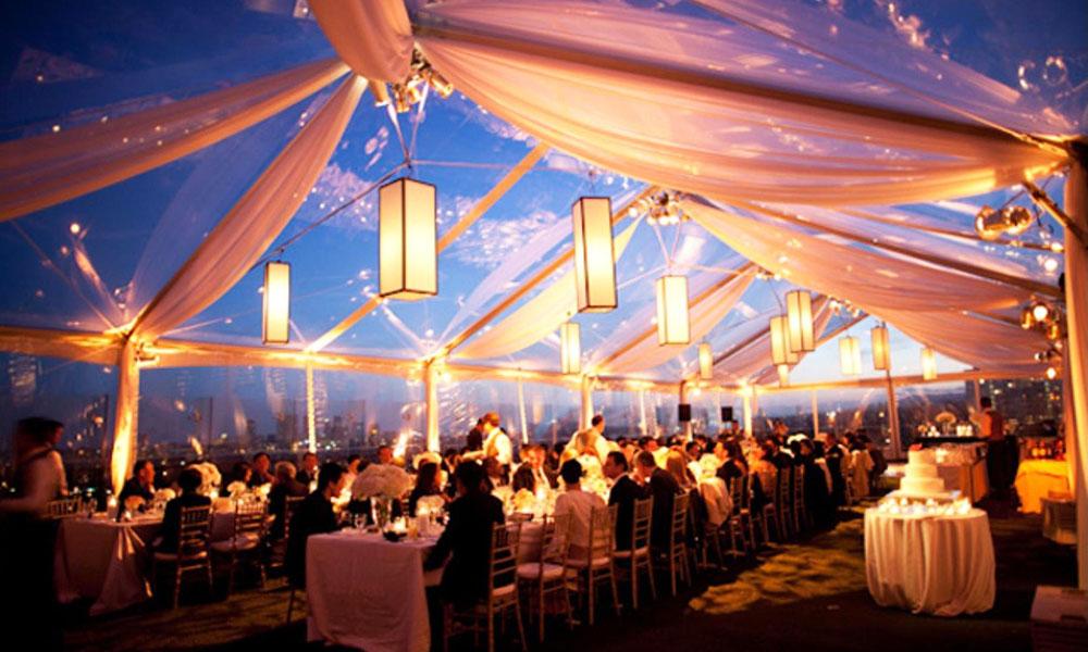 Kinh nghiệm chọn nhà hàng Tiệc cưới - xem xét hệ thống âm thanh, ánh sáng