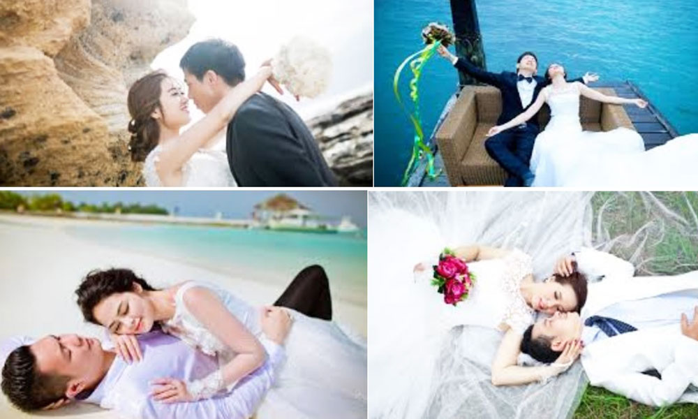 Kinh nghiệm vàng khi đi chụp ảnh cưới ngoại cảnh - Chọn dáng chụp ảnh