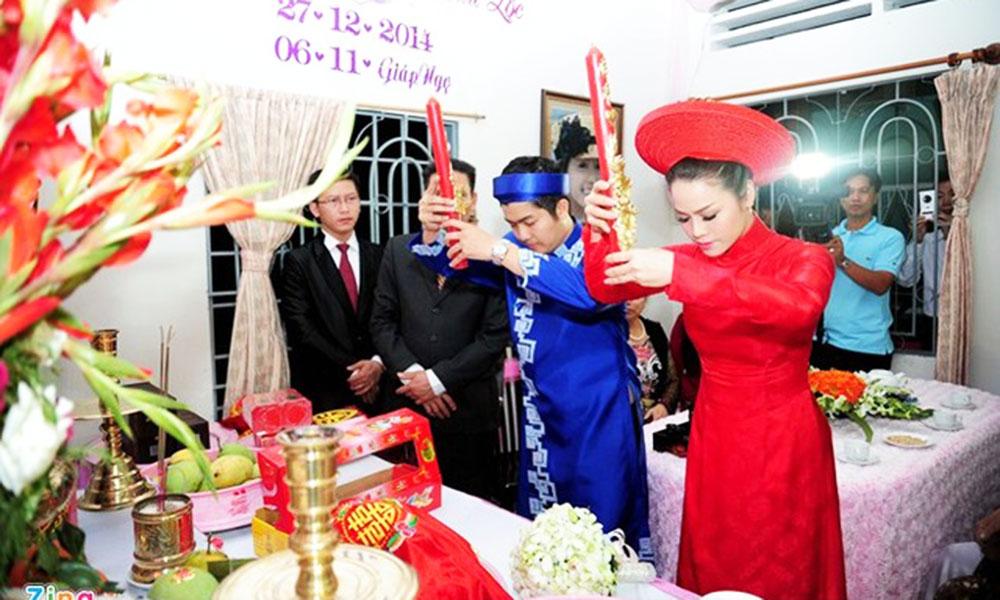 Nghi thức cưới hỏi ở Việt Nam - Lễ lên đèn