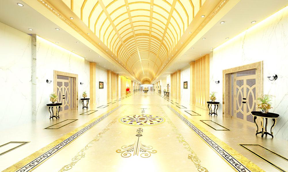 Trung tâm hội nghị tiệc cưới Hoàng Tử Cần Thơ - Hành lang