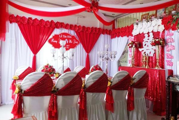 Trang trí tiệc cưới Cần Thơ