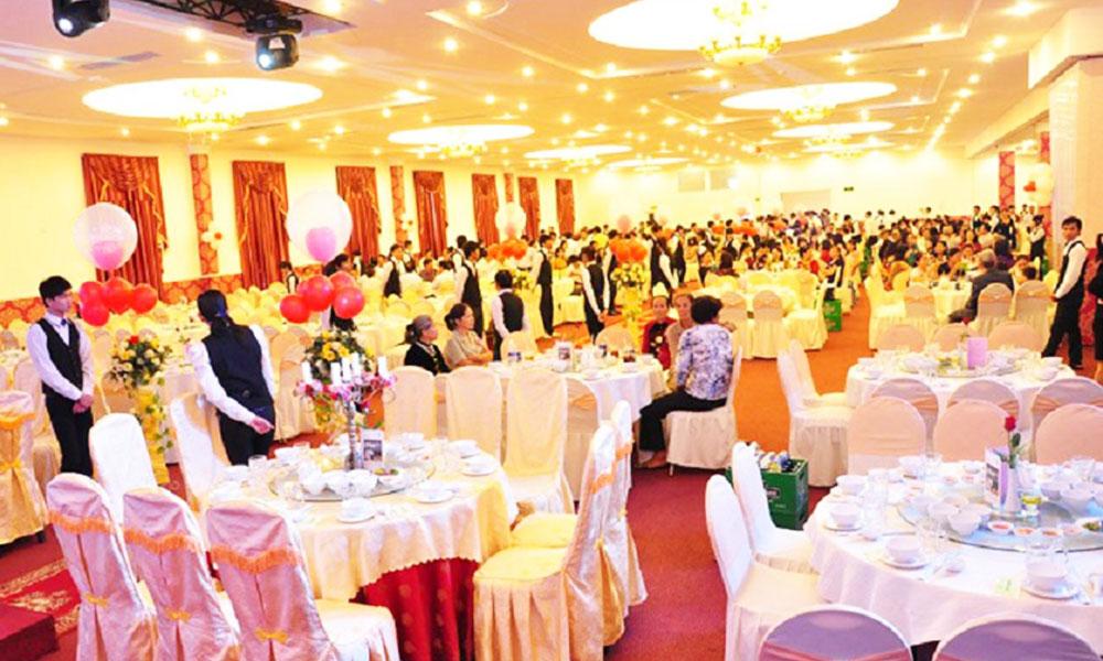 Trung tâm hội nghị tiệc cưới CB Diamond Palace Cần Thơ - Sảnh tiệc