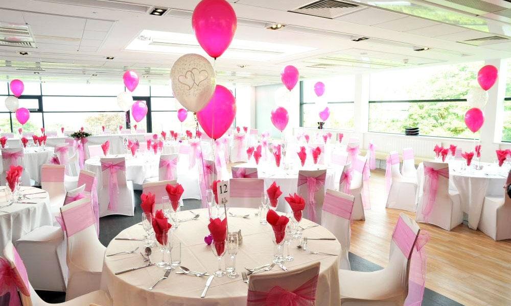 Trung tâm hội nghị tiệc cưới Cửu long khuyến mãi tiệc cưới 2017 - Trang trí bong bóng