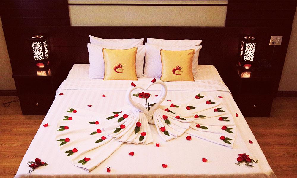 Trung tâm hội nghị tiệc cưới Cửu long khuyến mãi tiệc cưới 2017 - Phòng nghỉ đêm tân hôn