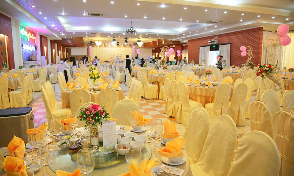 Trung tâm hội nghị tiệc cưới Cửu Long Cần Thơ - Sảnh tiệc cưới