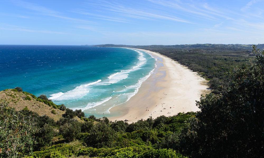 Tuần trăng mật  Nên đi du lịch ở đâu - Byron Bay (Úc)