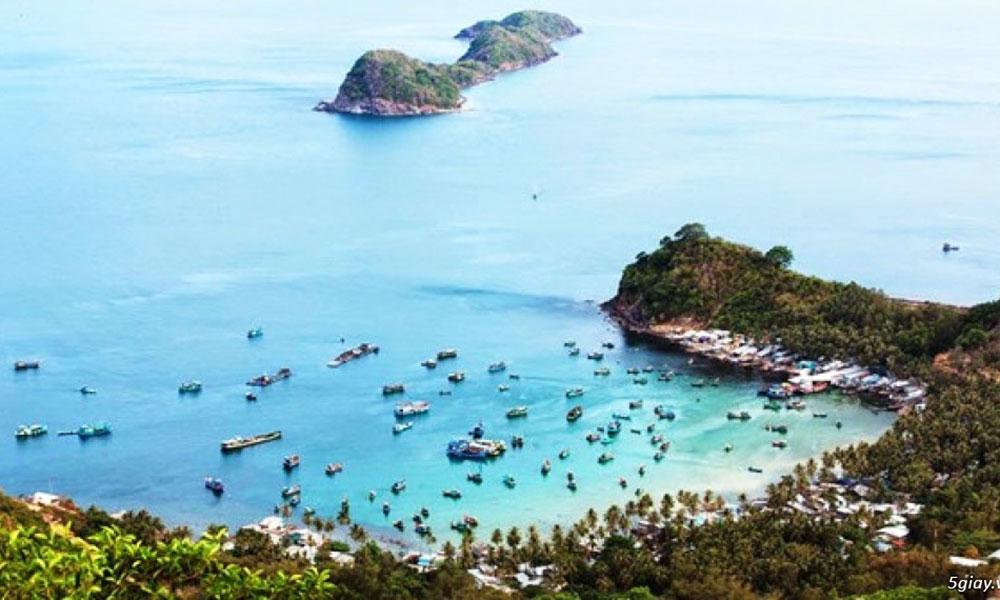 Tuần trăng mật  Nên đi du lịch ở đâu - Quần đảo Nam Du (Kiên Giang)