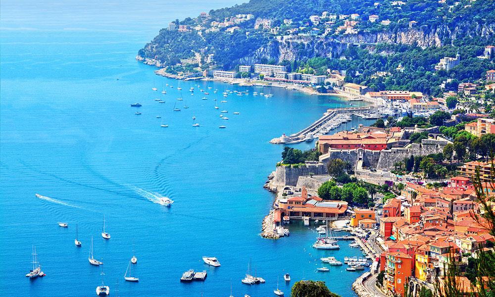 Du lịch tuần trăng mật tại Riviera Pháp