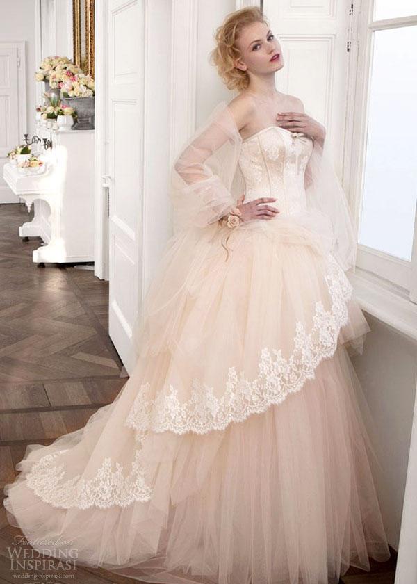 Những mẫu váy cưới đẹp cho mùa đông